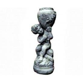 Садова Скульптура Континент Хлопчик з глечиком бетонна