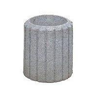 Вулична урна для сміття Континент бетонна