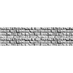 Плита еврозабора Континент Старая кладка односторонняя бетонная
