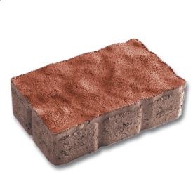 Тротуарна плитка Віденський прямокутник бетонна сухопресована 6 см