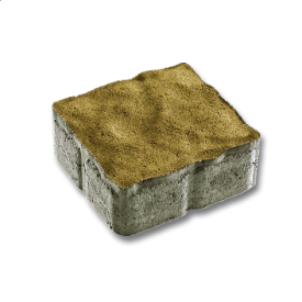 Тротуарна плитка Віденський квадрат бетонна сухопресована 6 см