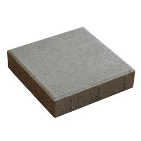 Тротуарна плитка Квадрат бетонна сухопресована 30х30х6 см