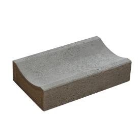 Желоб водоотводный бетонный сухопрессованный 33х20х8 см