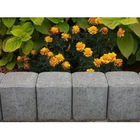 Стовпчик садовий Палісад бетонний сухопрессованный 12х12х25 см