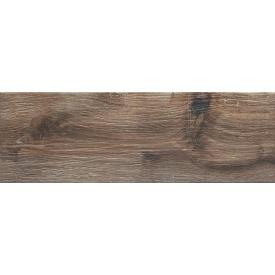 Підлогова плитка Ceramika Gres Ashwood Brown 20х60 см