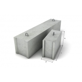 Блок фундамента ФБС 12-6-3