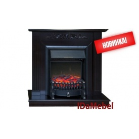 Каминокомплект Elaine IDaMebel Royal FLame Fobos FX Black 2000 Вт 900x910x310 мм