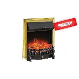 Электрокамин встраеваемый Royal Flame Fobos FX Brass 2000 Вт 500x610x230 мм золото