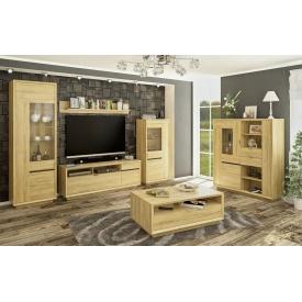 Модульная гостиная Невио Мебель-Сервис дсп золотой-дуб