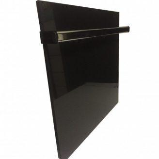 Керамічна панель Камін чорна з полотенцесушителем 475 Вт