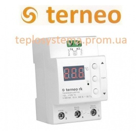 Терморегулятор Terneo rk на DIN-рейку
