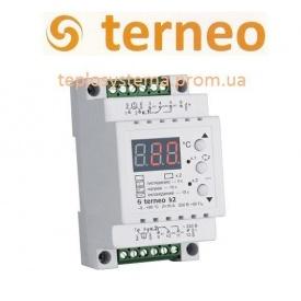 Терморегулятор Terneo k2 двухзонный нагрев / охлаждение на DIN-рейку
