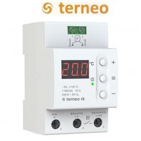 Терморегулятор Terneo rk 32 А для электрического котла на DIN-рейку