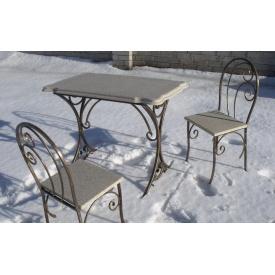 Стол столешница из литого камня мрамора 960х560 мм