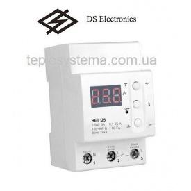 Реле контроля тока ZUBR 125 RET I25 однофазное DS Electronics