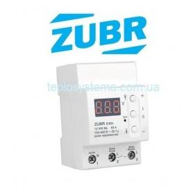 Реле контроля напряжения ZUBR D63t с термозащитой DS Electronics