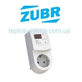 Домашнє реле напруги в розетку ZUBR R116y вольт контроль DS Electronics