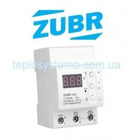 Реле контроля напряжения ZUBR D50t с термозащитой DS Electronics