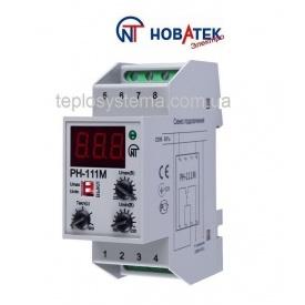 Реле контролю напруги РН-111 М 16 Volt Control Новатек-Електро