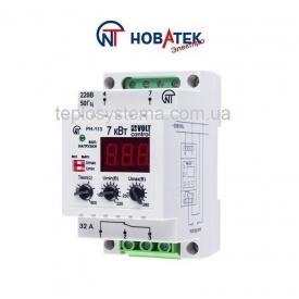 Реле контроля напряжения РН-113 32 А Volt Control Новатек-Электро