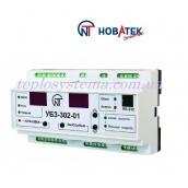Універсальний блок захисту електродвигунів УБЗ - 302-01 Новатек-Електро