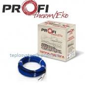 Тонкий двожильний нагрівальний кабель PROFI THERM Eko FLEX 1500 Вт 10,0 м2