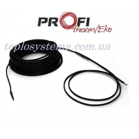 Двужильный нагревательный кабель Profi Therm Eko плюс 2-23 3130 Вт для систем антиобледенения