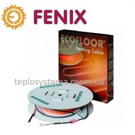 Тонкий двухжильный нагревательный кабель FENIX ADSV 10 Вт/м 600 Вт