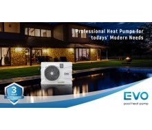 Тепловий насос для басейну EVO EP-40Р