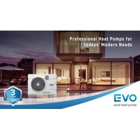 Инверторный тепловой насос для бассейна EVO EP-120i
