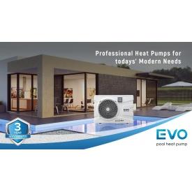 Инверторный тепловой насос для бассейна EVO EP-150i