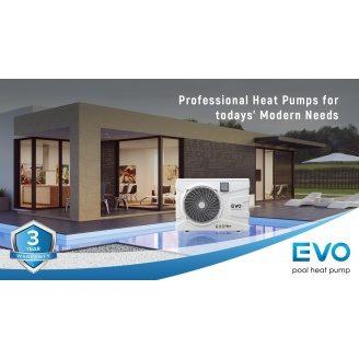 Інверторний тепловий насос для басейну EVO EP-150i