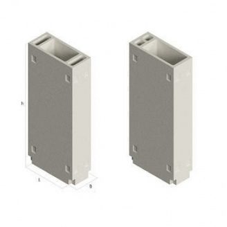 Вентиляційний блок ВБ 4-33-0 910х400х3280 мм