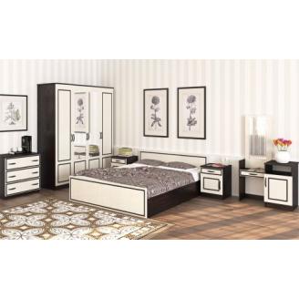 Спальня Мир Мебели Ким венге темный\венге светлый