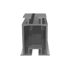 Профиль алюминевый для установки на крыше и для наземных конструкций