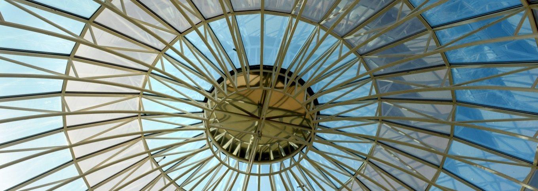 Зенітні ліхтарі, скляні дахи