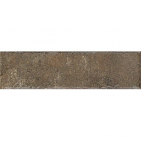 Клинкерная плитка Paradyz Ilario brown struktura elewacja 6,6x24,5 см