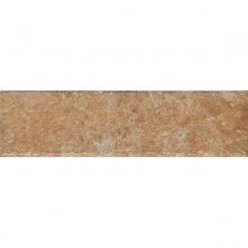 Клинкерная плитка Paradyz Ilario ochra struktura elewacja 6,6x24,5 см