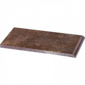 Клінкерна підвіконня Paradyz Ilario brown 10x20 см