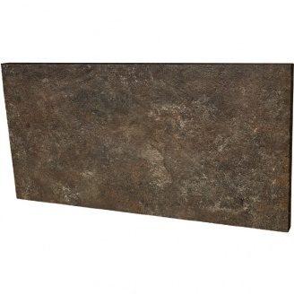 Клінкерна підсходинки Paradyz Ilario brown struktura 14,8x30 см