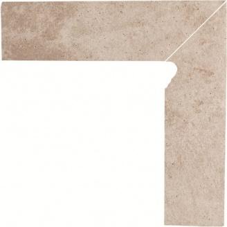 Клінкерна цоколь Paradyz Viano beige prawy 8,1x30 см
