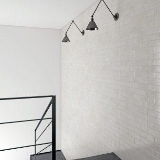 Керамограніт універсальний Zeus Ceramica Brickstone 600х300 мм total white (ZNXBS0)