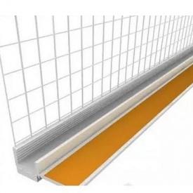 Уголок оконный примыкающий стеклосеткой 3 м