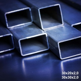 Труба профільна сталь 1-3пс 30х20х1,8 мм 6 м