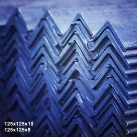 Кутик гарячекатаний сталь 3пс 125х125х10 мм 12 м