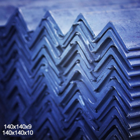 Уголок горячекатаный сталь 3пс 140х140х9 мм 12 м