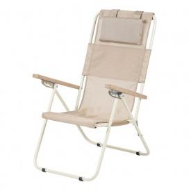 Кресло-шезлонг Ясень 20 мм текстилен золотистый Витан