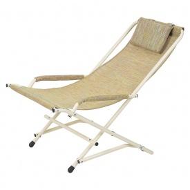 Кресло Качалка 20 мм текстилен оранжевый Витан