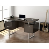 Офисный стол Loft-design L-81 1450х750х650 мм дсп венге-корсика