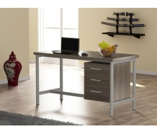 Офисный стол Loft design L-45 1300х750х650 мм лдсп Дуб Палена